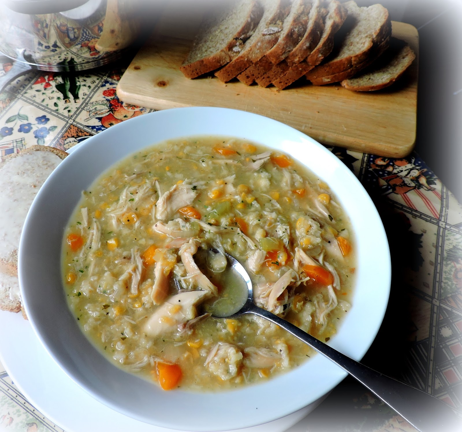 The english kitchen chicken corn chowder this recipe i am showing you today is an old old recipe which i have been making for my family for years and years back in canada there aways used to be forumfinder Choice Image