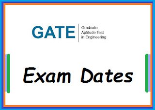 GATE 2019 Exam dates for All Branches – test Dates check