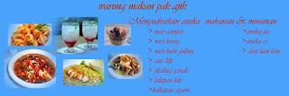 Cara membuat spanduk makanan sederhana