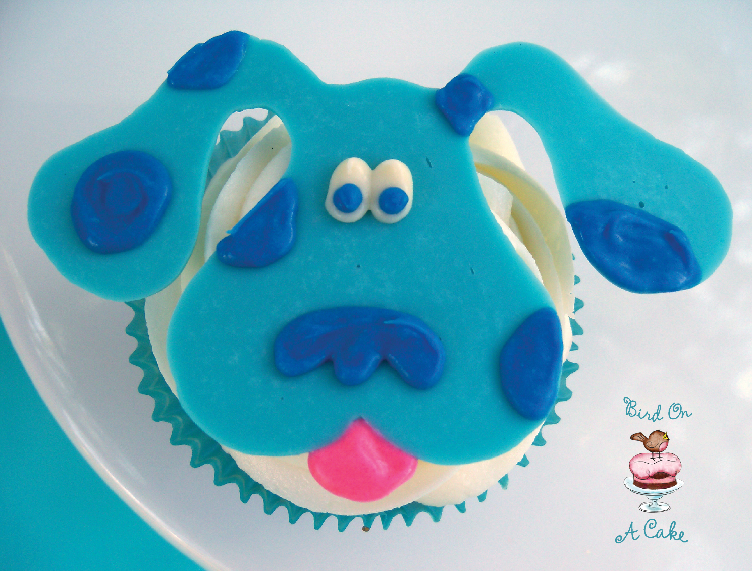 How To Make A Blues Clues Birthday Cake