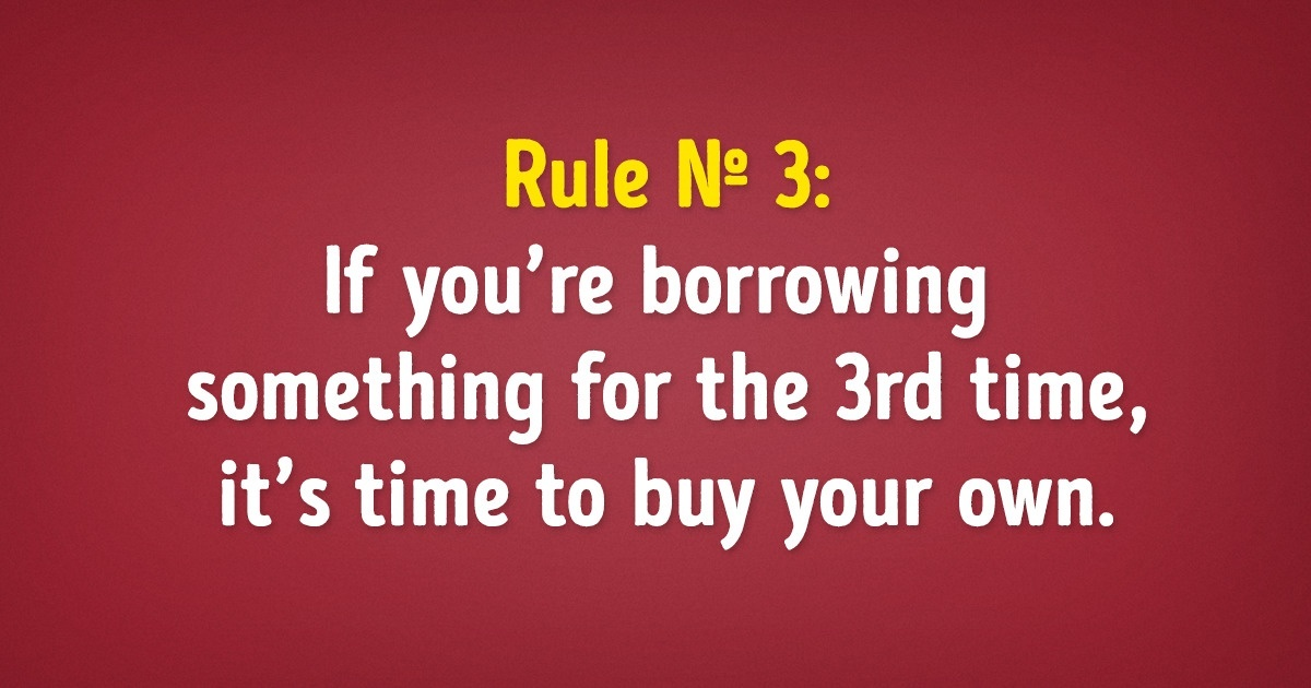 22 Funny Rules That Have To Become Real Laws