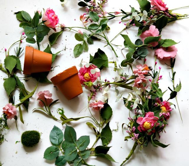 wreath, floral, flowers, greenery, grapevine, easy, home, decor, handmade, athomewithjemma.com