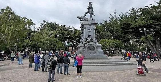 Plaza Muñoz Gamero, city of Punta Arenas.