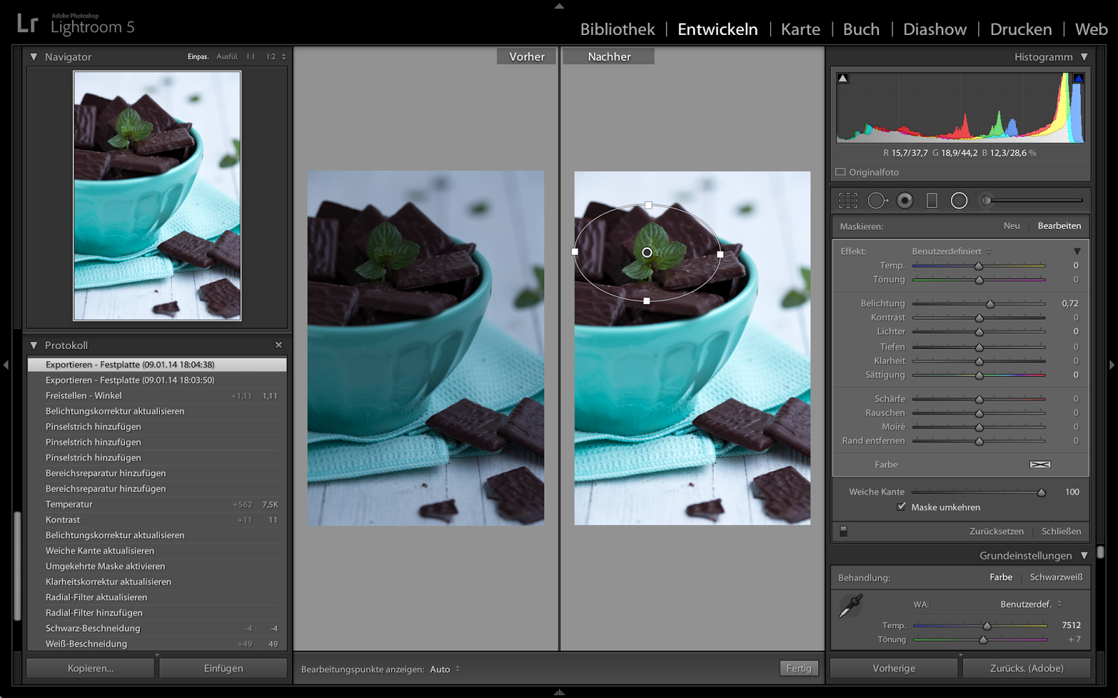 Lightroom Bildbearbeitung Tipps Tricks Tutorial