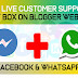 Add Live Customer Support Chat Box On Blogger And Website