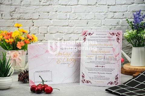 Undangan Pernikahan Amplop Softcover I01