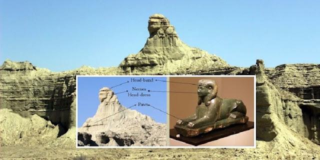 Bukan Hanya di Mesir, Patung Sphinx Juga Ada di Pakistan, Kok Bisa?