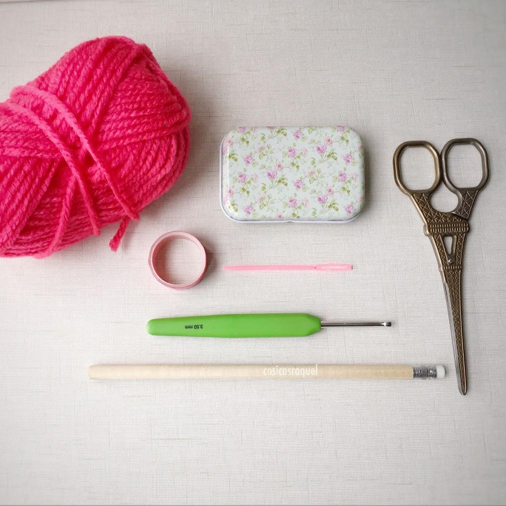 cosicasraquel: Lápices Flor de Crochet