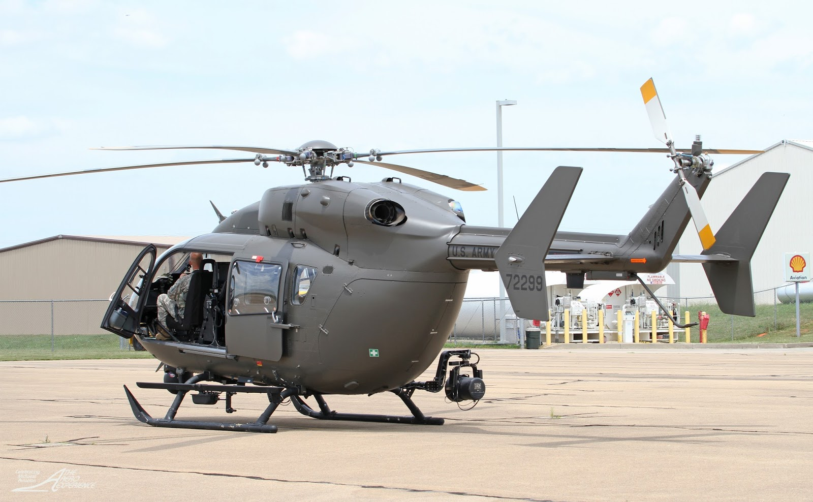A U S Army Uh 72a Lakota With Detachment 1 Alpha Pany 244 Aviation Security And Support Battalion D C National Guard Lands At The