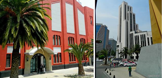 Edifícios Art Déco na Cidade do México