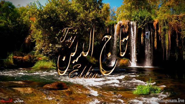 معنى اسم تاج الدين وصفات حامل هذا الاسم Taj Eddin