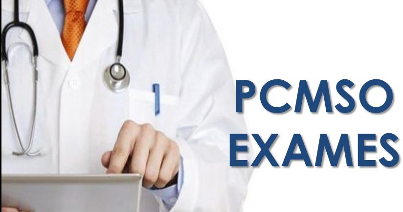 Exames pcmso