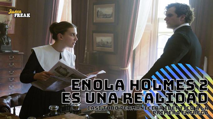 Millie Bobby Brown y Henry Cavill vuelven para Enola Holmes 2