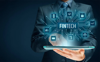 What are the technologies used in front-end and back-end in fintech startups?