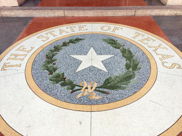 The State Seal of Texas - Austin, TX - Tori's Pretty Things Blog