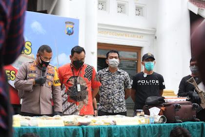 Gubernur Jatim Apresiasi Kinerja Satnarkoba Polrestabes Surabaya