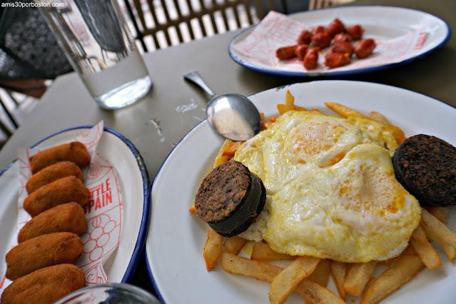 Spanish Diner en el Mercado Little Spain de Nueva York