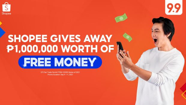 Shopee free money this 9.9 Super Shopping Day