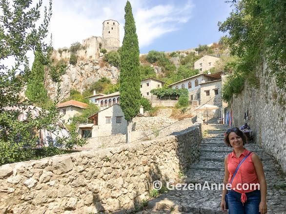 Mostar çevresi gezilecek yerlerden Pocitelj, Bosna Hersek