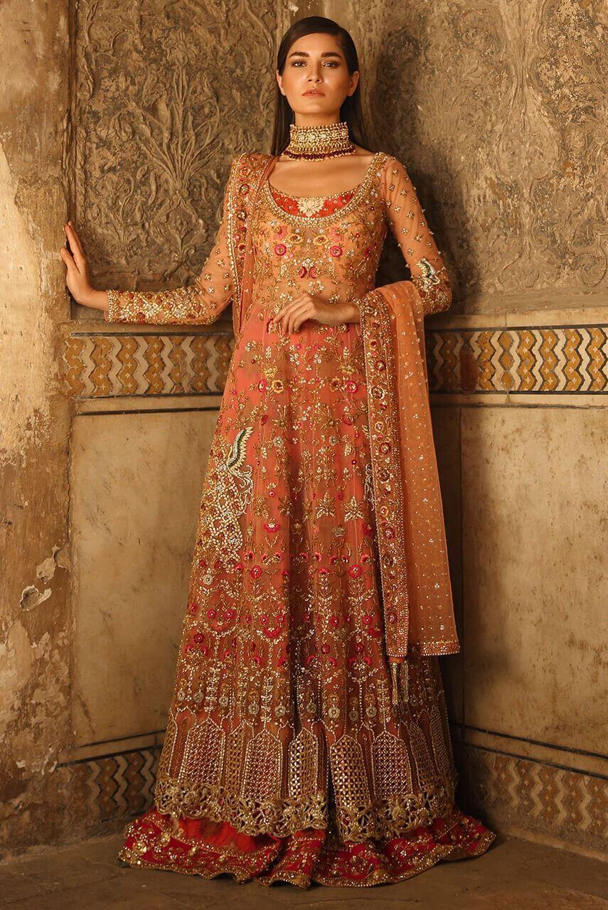 Bridal Mehndi Dress