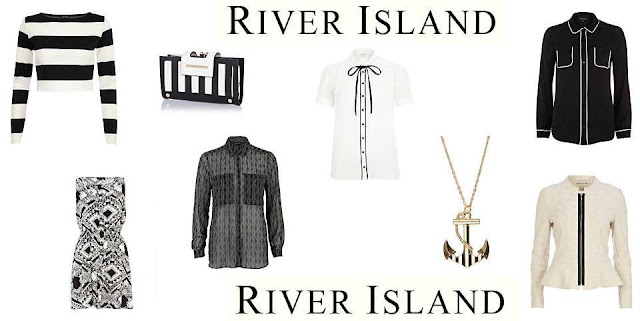 River Island Monochrome Fashion