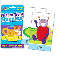 Trend Picture Word Puzzles - Challenge Cards