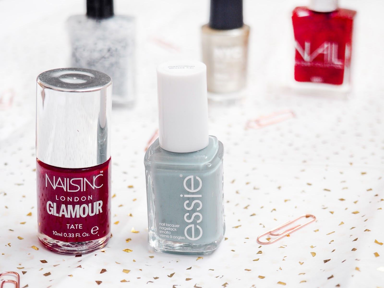 Winter Manicure Menu Nail Polish Nails Inc Essie