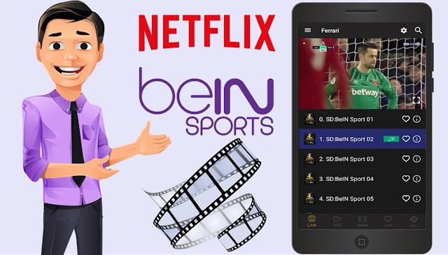 تطبيقات 2020 | أفضل وأسرع تطبيق على الإطلاق لمشاهدة مختلف القنوات الرياضية والأفلام الحصرية بدون تقطعات ولا إعلانات