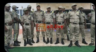 """Video:Newly formed South east security  """"Ebube agu"""" make first public appearance at Ebonyi state"""