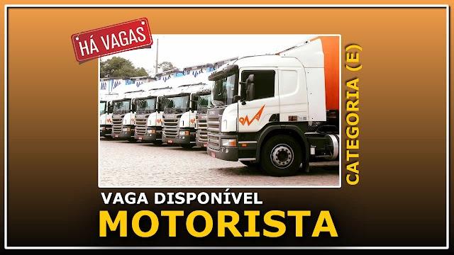 Transportadora Maçaneiro contrata Motorista Carreteiro