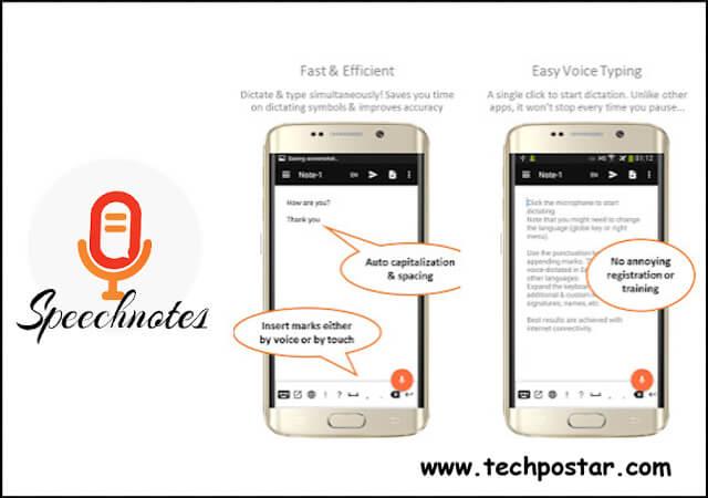 App Speechnotes