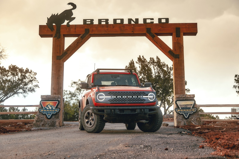 First Bronco Off-Roadeo