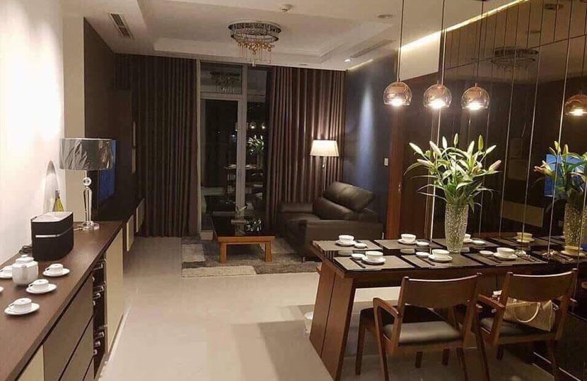 Bán gấp căn hộ 2 phòng ngủ 84m2 tầng cao tòa Central 2