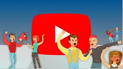 يوتيوب يقوم بحظر الاهانات والتهديدات الخطيره