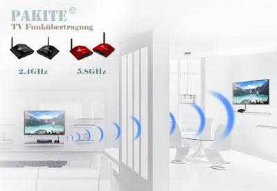 tv signal kabellos übertragen gerät
