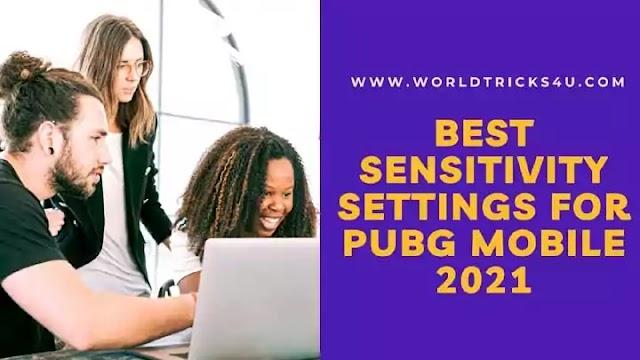 Best sensitivity settings for pubg mobile 2021