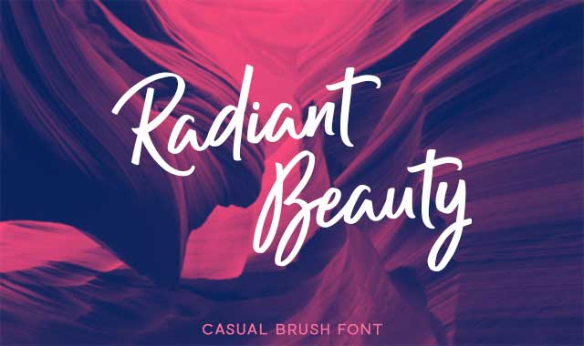 Radiant Beauty Font