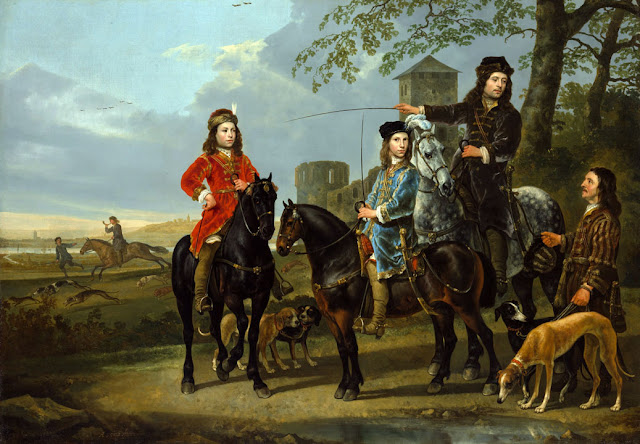 Альберт Кёйп - Начало охоты. 1650-55
