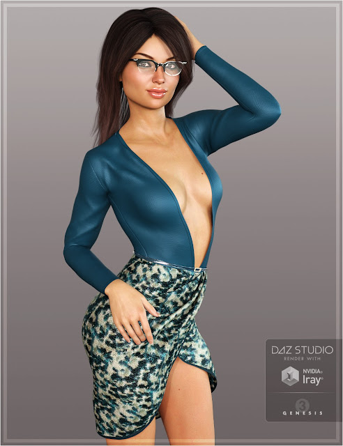 Rianna Outfit Textures