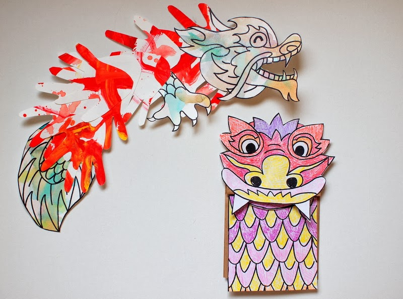 Chinese New Year Dragon Crafts