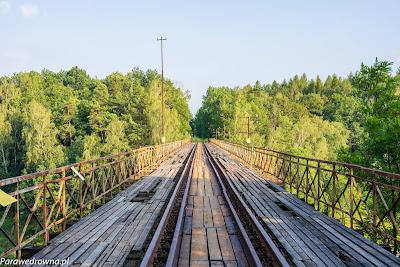 Torowisko na moście (widok od północy)