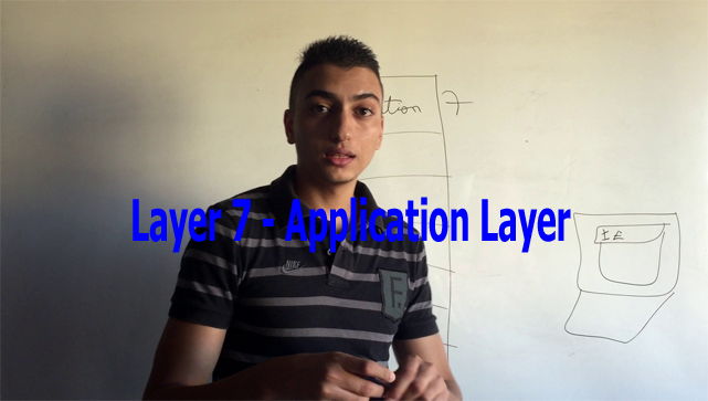 Application Layer - Layer 7 of OSI model