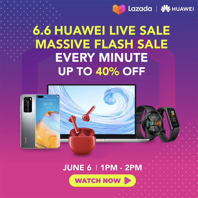 Up to 40 percent off select Huawei devices