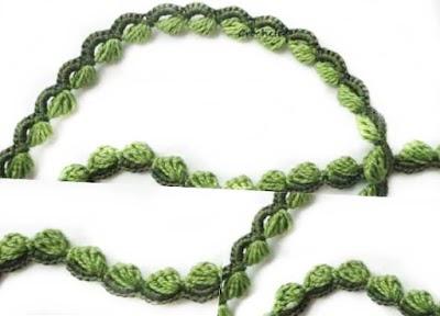Tutorial crochet encaje irlandés Lace Wings