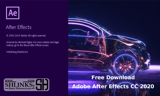 Adobe After Effects CC 2020 Free Download | Shlinks2.com