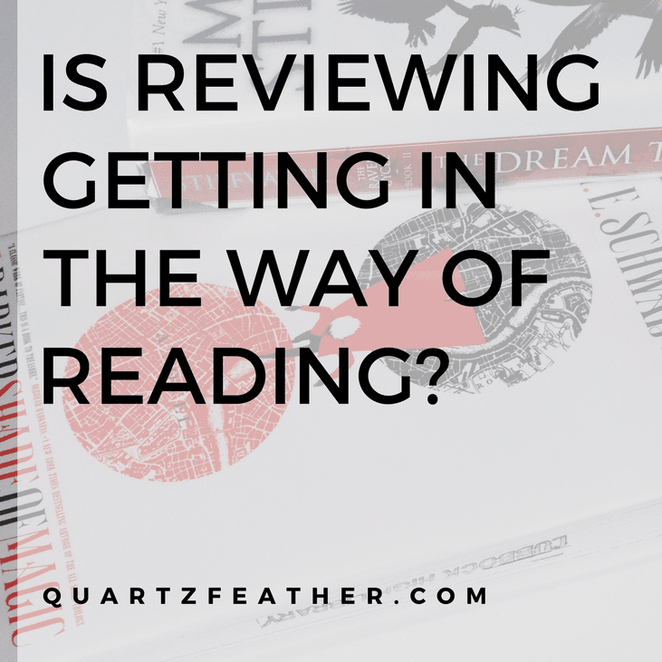 Is Reviewing Getting in the Way of Reading?
