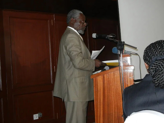 Kisumu ODM County Chairman Ayiecho Olweny