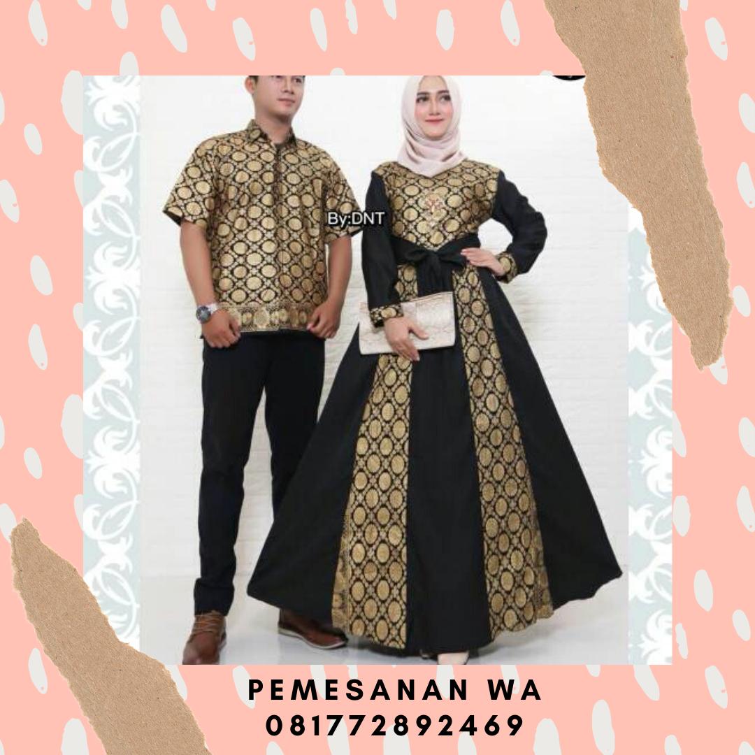 reportercanina: Model Baju Gamis Batik Couple Sarimbit Couple
