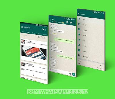 BBM Mod WhatsApp Apk 3.2.5.12 Clone Terbaru [WA]