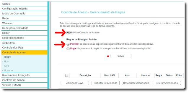 Como bloquear usuário por horário no roteador TP-LINK (atualizado)